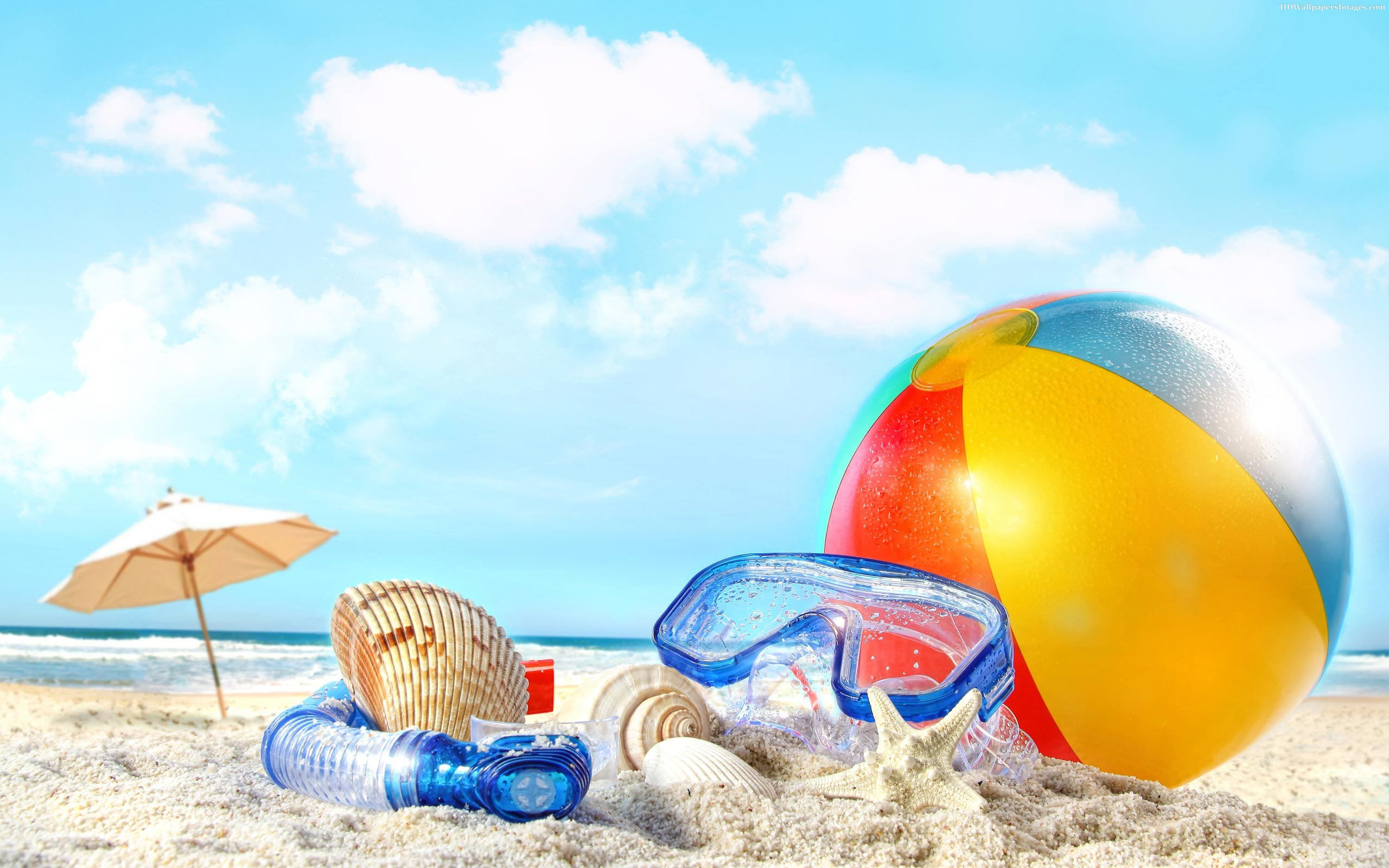 Gallery For > Beach Ball Wallpaper